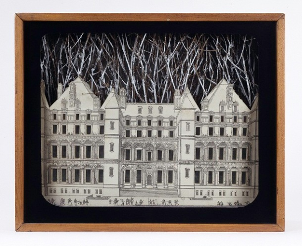 Joseph Cornell Setting for a Fairy Tale, 1942Fair use image Guggenheim museum Solomon R. Guggenheim Founding Collection