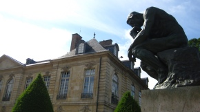 Looming thought ('The Thinker', Musée Rodin, Paris)   – Miguel Jacq