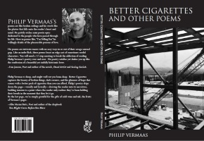 Paperback and ebook available for Better Cigarettes and Other Poems by Philip Vermaas published by Blue Hour Press