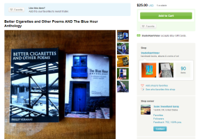 Blue Hour Press Books for Sale