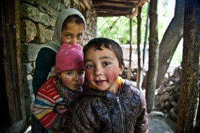 Beautiful Kids of Turtuk by Nishant Verma