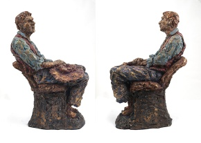 Recently completed sculptures by JessicaMiller