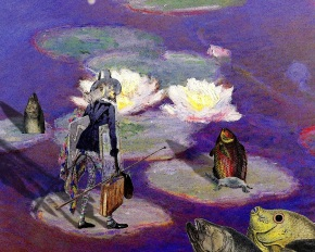 I wish Monet were here by AlexNodopaka