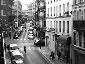 Cyclist, Paris 2007 by MiguelJacq
