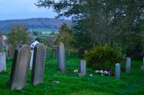 Churchyard in Autumn by Tom DarinLiskey