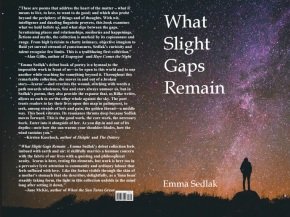 What Slight Gaps Remain by Emma Sedlak is Now Available for Preorder